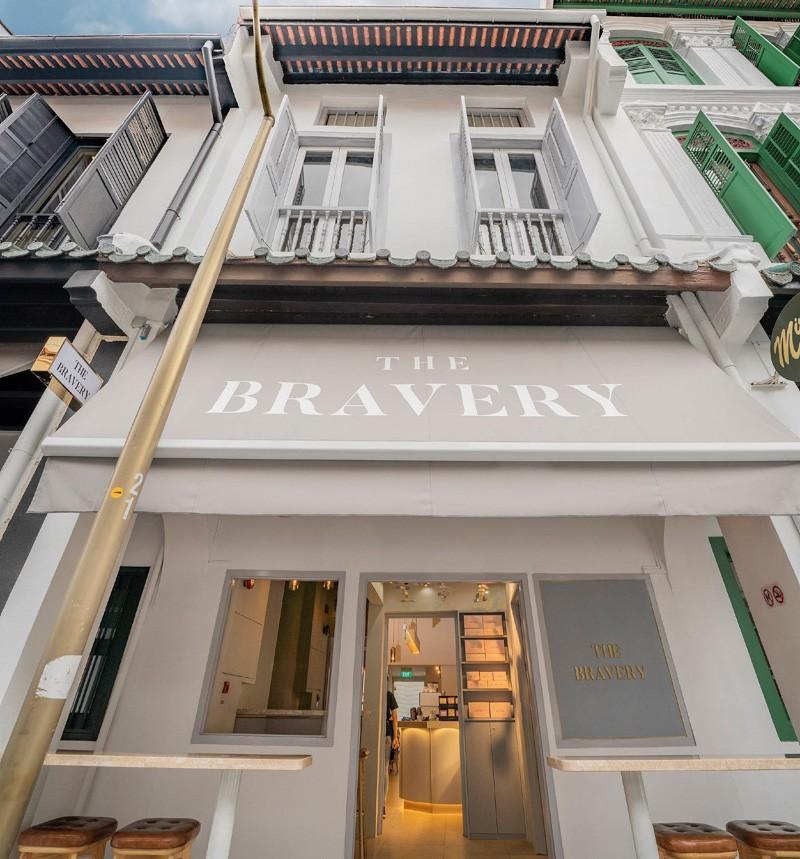 Shopfront of The Bravery