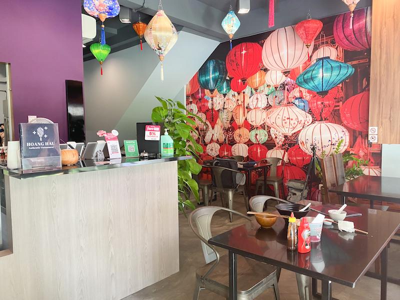 Interior of Hoang Hau