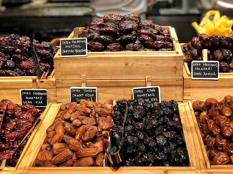 A selection of dates