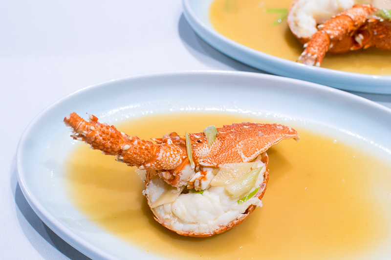 Braised Australian Lobster With Superior Broth