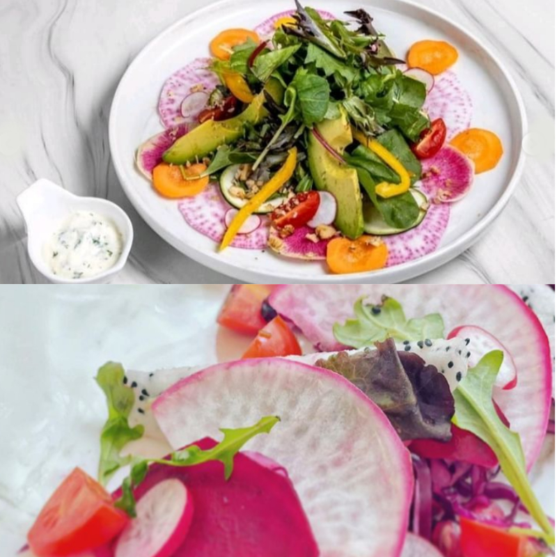 Collage Of Whitetree Cafe Salads