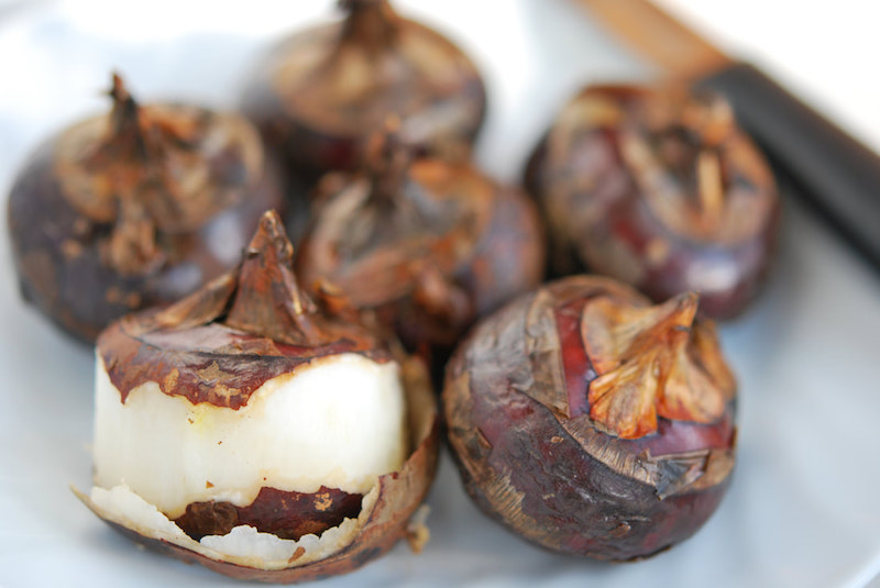 Picture of water chestnuts