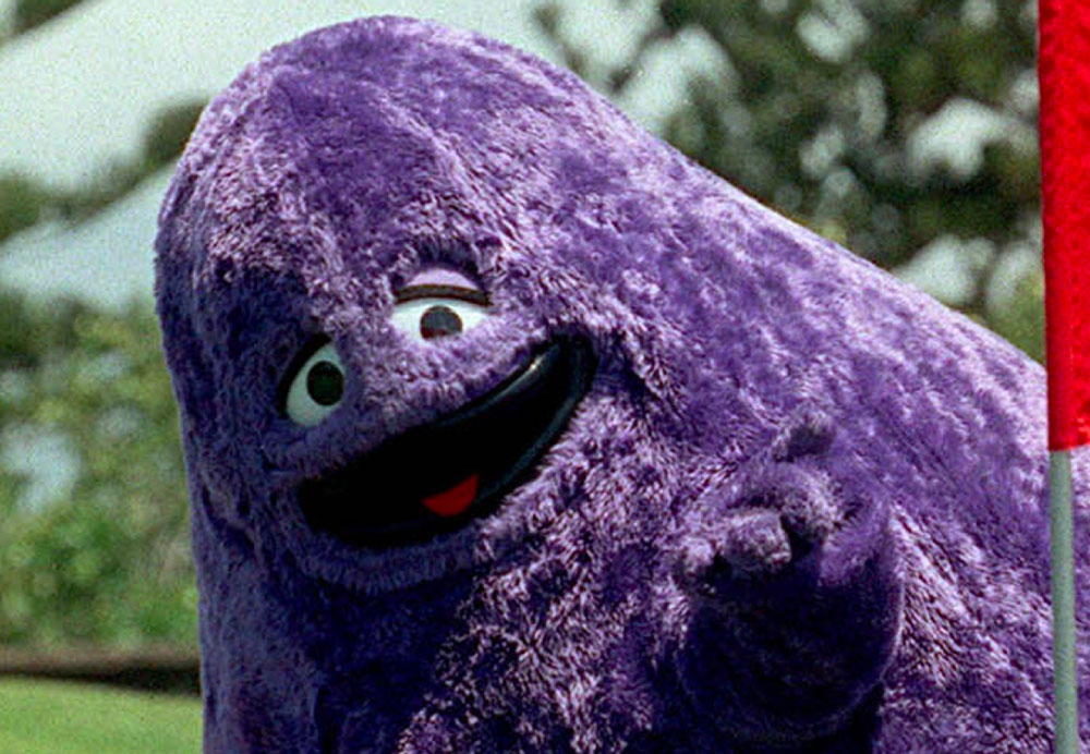 Grimace from McDonalds