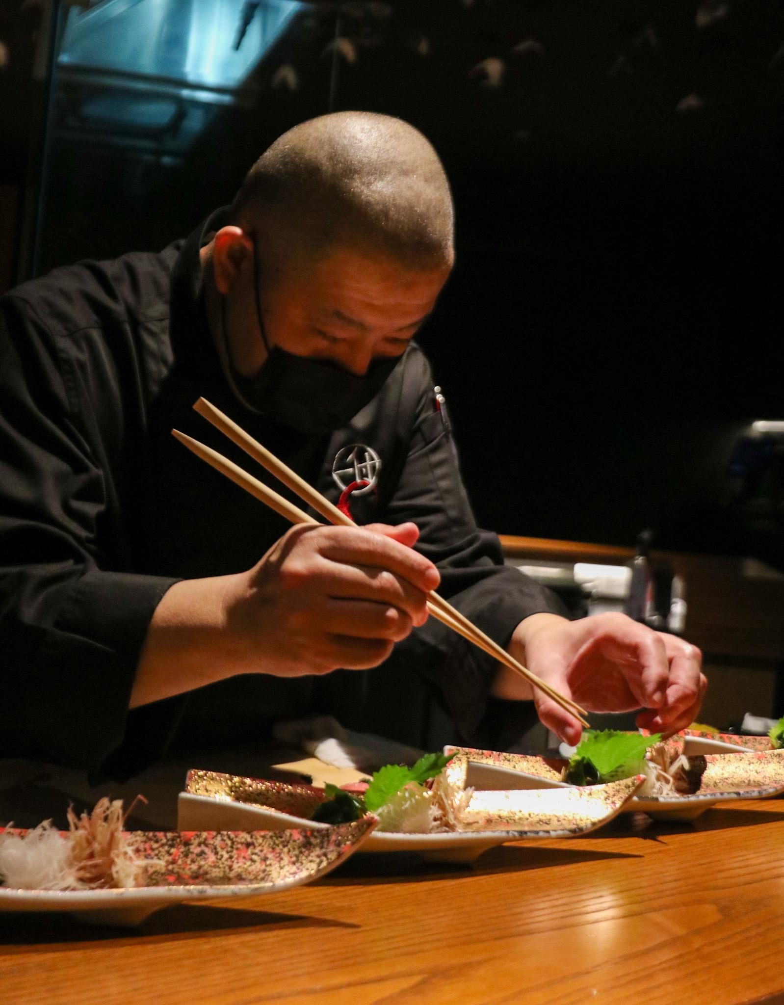 a photo of chef nakatani